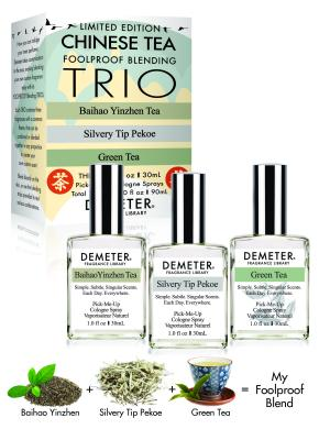 Chinese Tea Trio 1 oz Set