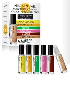 Hints of Fall On Perfume Oil Blending Pack