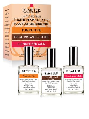 Pumpkin Spice Latte 1 oz Set - Pumpkin Pie, Fresh Brewed Coffee, Condensed Milk