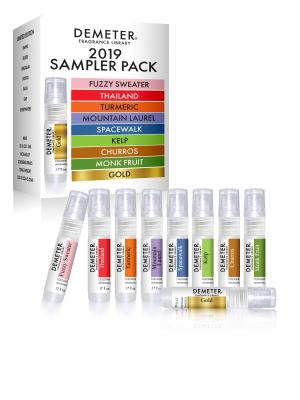2019 Sampler pack - Fuzzy Sweater, Thailand, Turmeric, Mountain Laurel, Spacewalk, Kelp, Churros, Monk Fruit, Gold